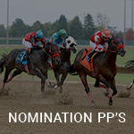 View Nomination PP's on Equibase
